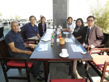Picture taken of the BOD members during lunch at the 5th AASP Conference in ITB, Bandung, Indonesia in June 2011.